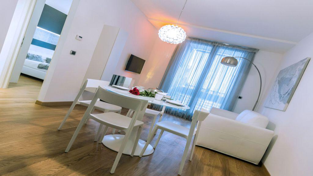 myapartsuite-rome-trastevere-silver-apartment-living-room