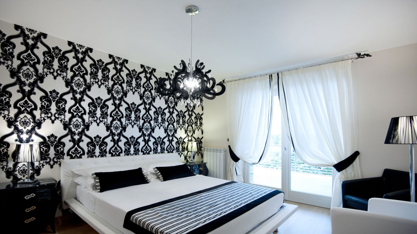 myapartsuite-rome-trastevere-black-white1-apartment-room