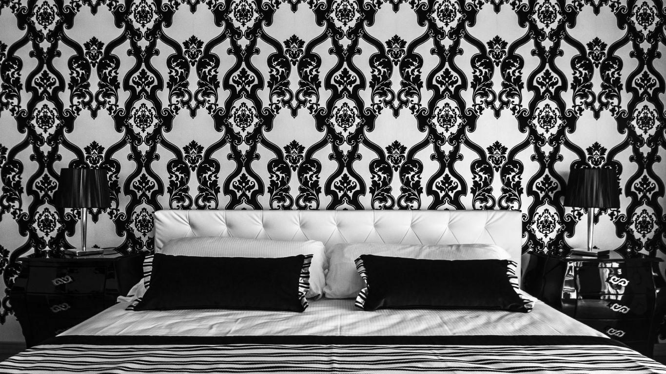 myapartsuite-rome-trastevere-black-white2-apartment-room